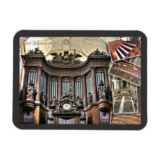 Paris organ flexible magnet