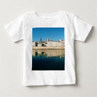 Paris Panorama - Ile Saint Louis Baby T-Shirt