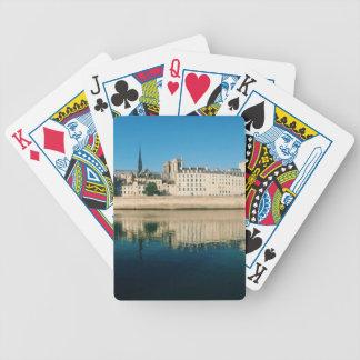 Paris Panorama - Ile Saint Louis Bicycle Playing Cards
