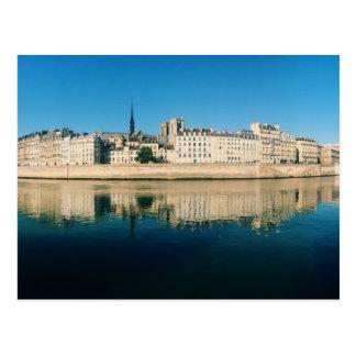 Paris Panorama - Ile Saint Louis Postcard