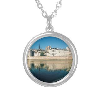 Paris Panorama - Ile Saint Louis Silver Plated Necklace