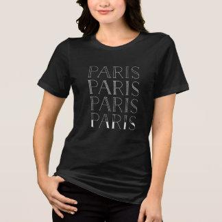 Paris Paris Paris   Elegant French Inspired T-Shirt