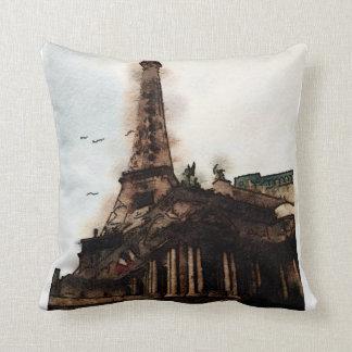 Paris, pillow