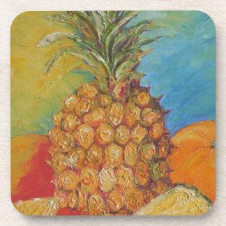 Paris' Pineapple Coasters