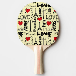 Paris Ping Pong Paddle