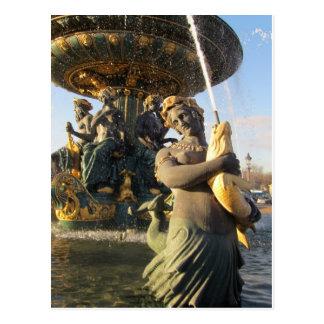 Paris - Place de la Concorde Postcard