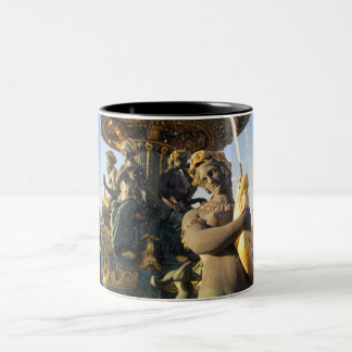 Paris - Place de la Concorde Two-Tone Mug