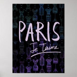 Paris Poster (Black)