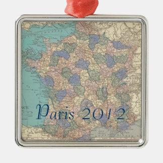 Paris Premium Square Ornaments