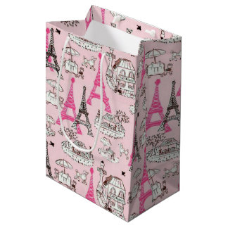 Paris Promenade Medium Gift Bag