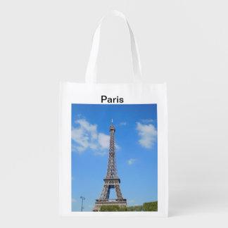 Paris Reusable Shopping Bag