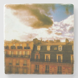 Paris Roofs Photo Coasters Stone Coaster