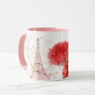 Paris Rose Mug
