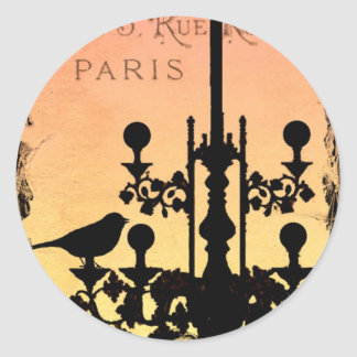 *PaRiS RoYaLe HaPPy STiCKieS* Classic Round Sticker