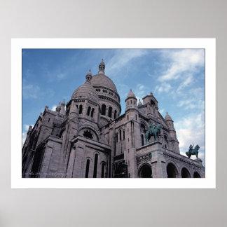 Paris, Sacré-Coeur Poster