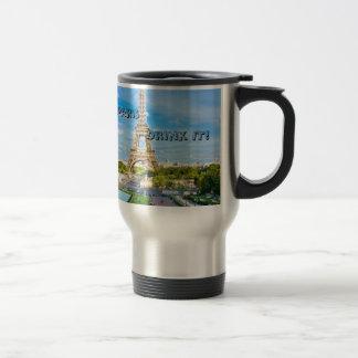 Paris Scenary stainless Steel mug