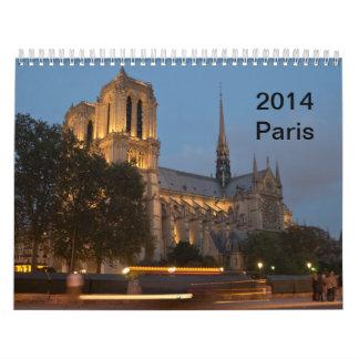 Paris - Scenes of the City Calendar