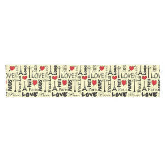 Paris Short Table Runner