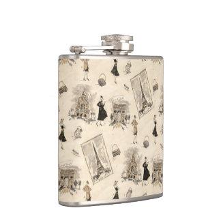 Paris Sights 1 Flasks
