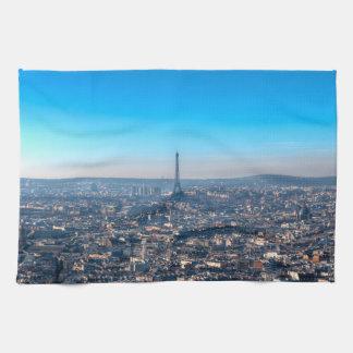Paris Skyline Tea Towel