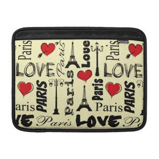Paris Sleeve For MacBook Air