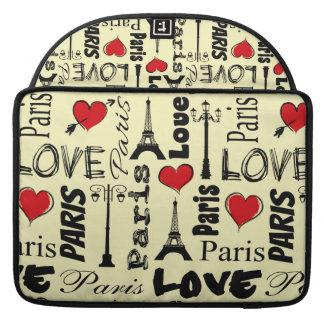 Paris Sleeve For MacBook Pro