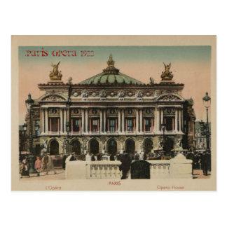 Paris Souvenier L'Paris Opera House Postcard