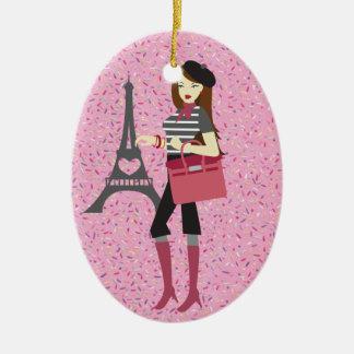 Paris - SRF Ceramic Oval Decoration