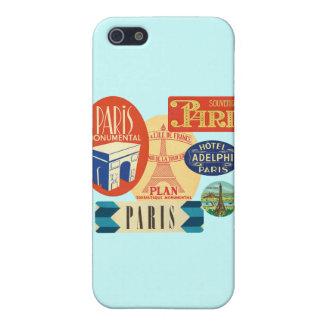 Paris stamp iPhone 5 cases