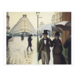Paris Street, Rainy Day by Caillebotte Post Cards