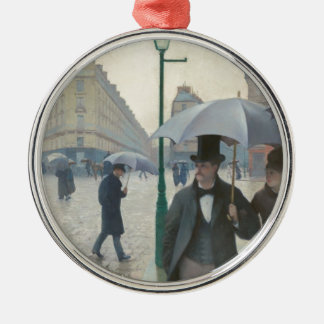 Paris Street Rainy Day Christmas Tree Ornament
