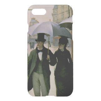Paris Street, Rainy Day iPhone 7 Clear Case