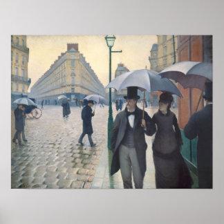 Paris Street; Rainy Day Poster