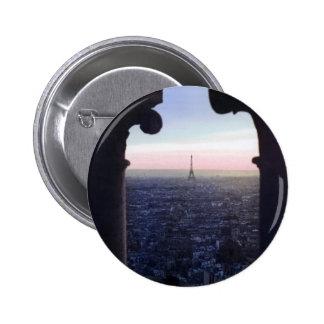 Paris Sunset Button