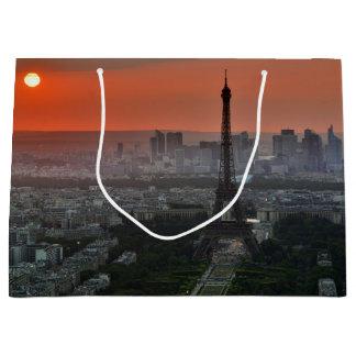 Paris Sunset Large Gift Bag