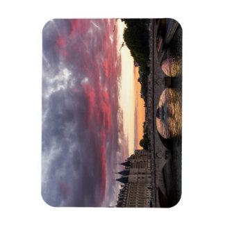 Paris Sunset Magnet