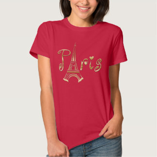PARIS T-Shirt with the Eiffel Tower