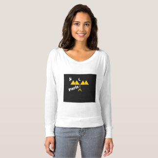 Paris T-Shirts For women.....