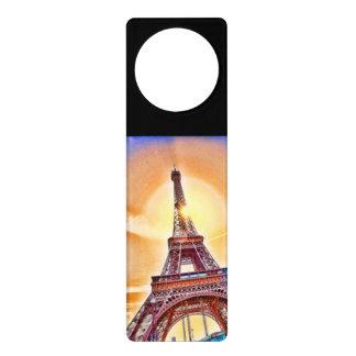 Paris, the Eiffel Tower, France, personalised gift Door Hangers
