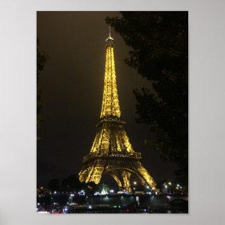 Paris- The Eiffel Tower Poster