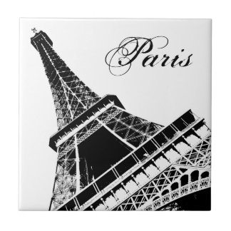 Paris, The Eiffel Tower - tile