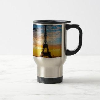 Paris Tour Eiffel in Sunset (St.K) Travel Mug