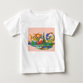 Paris Twist Baby T-Shirt
