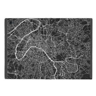 Paris urban Pattern BLACK Case For iPad Mini