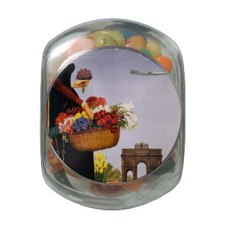 Paris via Constellation Jelly Belly Candy Jar