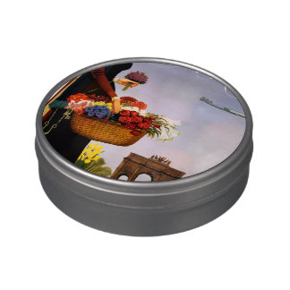 Paris via Constellation Jelly Belly Candy Tin