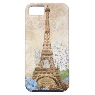 Paris Vintage Blue Hydrangea iPhone 5 Case