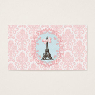 Paris Vintage Calling Card