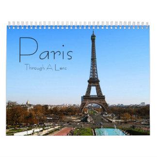 Paris Wall Calendar