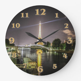 Paris Wallclock